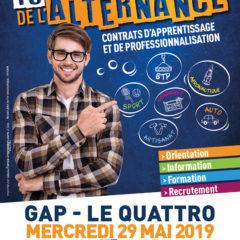 Salon de l'alternance de Gap le 29 Mai
