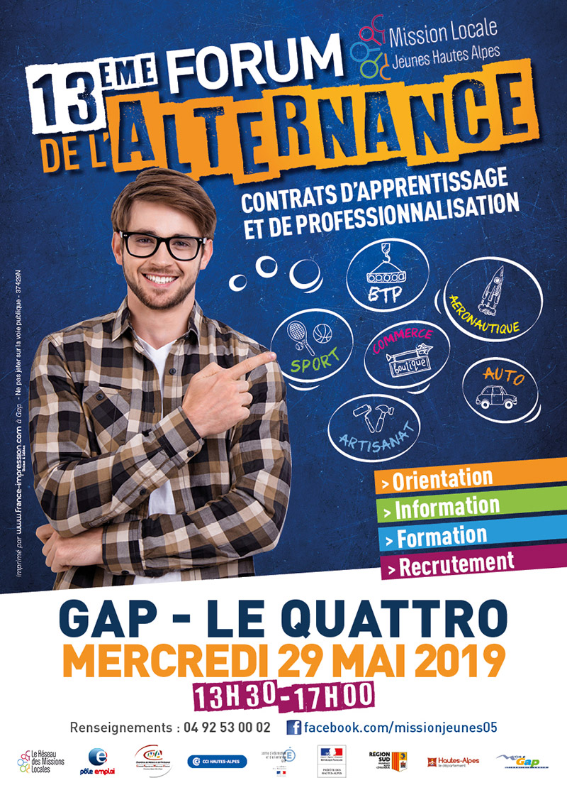 Salon de l'alternance de Gap le 29 Mai